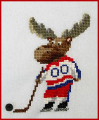 Malcolm The Hockey Moose