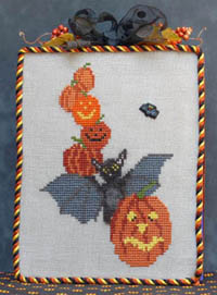 All Stacked Up - Halloween Bat