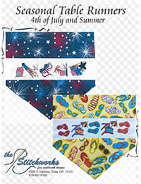 Seasonal Table Runner Designs (4th of July and Summer)