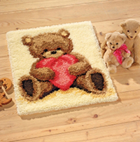 I Love You Latch Hook Rug Kit