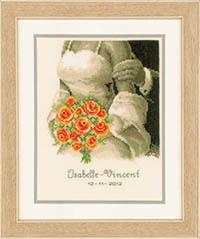 Wedding Bouquet Announcement Kit