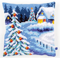 Wintery Scene Cushion Kit