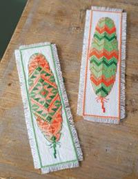 Feathers Bookmark Kit
