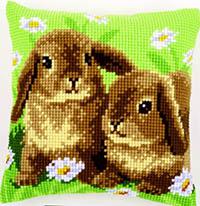 Two Rabbits Cushion Kit