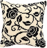 Black Rose Cushion Kit