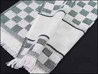 Black Verona Kitchen Towel