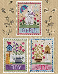 Monthly Trio: April, May, June