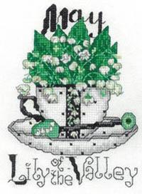 Teacup Flower- May