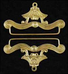 Cast Brass Bellpull Hardware