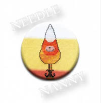 Candy Corn Needle Nanny by Amy Bruecken Designs