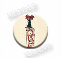 Crazy Dog Lady Needle Nanny by Amy Bruecken Designs