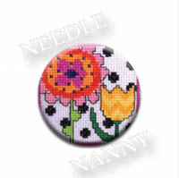 Flowers Needle Nanny by Amy Bruecken Designs