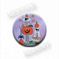 Eat Drink and Be Scary Stitch Dot by Amy Bruecken Designs