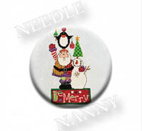 Be Merry Stitch Dot by Amy Bruecken Designs