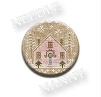 Glitter House 2 Needle Nanny by Country Cottage Needlework