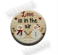 Love is in the Air Needle Nanny by Country Cottage Needlework