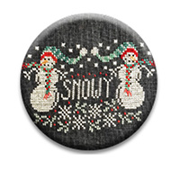 Snowy Twins Needle Nanny by Hands on Design