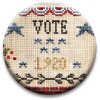 Vote 1920 Needle Nanny from Little House Needlework