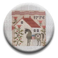 Summer Saltbox 2 Needle Nanny from Plum Street Sampler