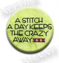 A Stitch A Day Keeps The Crazy Away Needle Nanny by Amy Bruecken Designs