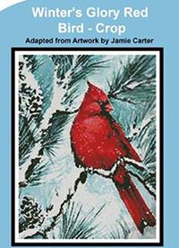 Winter's Glory Red Bird