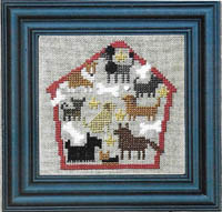 Dog House of Puppy Dogs Zipper