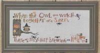 Halloween Branch - Hooty Owl