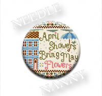 April Showers Needle Nanny by Country Cottage Needlework