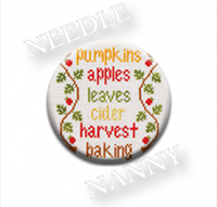 Autumn Celebrations Needle Nanny by Country Cottage Needlework