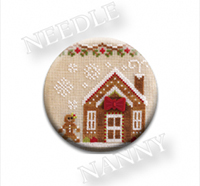 Gingerbread House Needle Nanny by Country Cottage Needlework