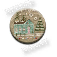 Glitter House #7 Needle Nanny from Country Cottage Needlework