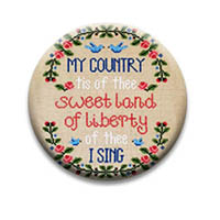 My Country Tis of Thee Needle Nanny from Country Cottage Needlework