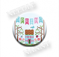 Spring Banner Needle Nanny by Country Cottage Needlework