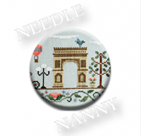 Arc de Triomphe Needle Nanny by Country Cottage Needlework