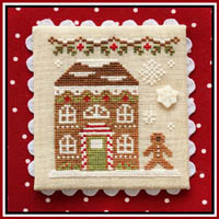 Gingerbread Village #11 - Gingerbread House #8