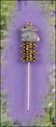 Bunny Charm Garden Pin