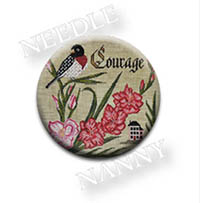 Courage Needle Nanny by Country Cottage Samplings