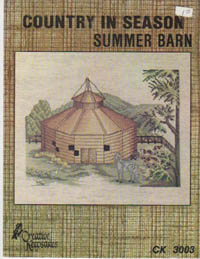 Country in Season-Summer Barn