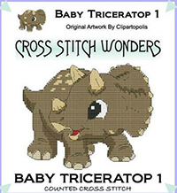 Baby Triceratop 1