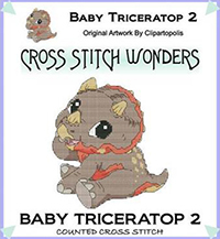 Baby Triceratop 2