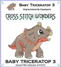 Baby Triceratop 3