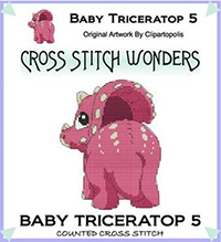 Baby Triceratop 5