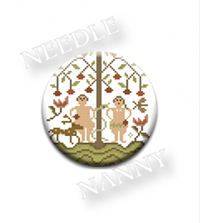 Adam and Eve Needle Nanny by Country Stitches