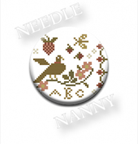 Bird Sampler Needle Nanny by Country Stitches
