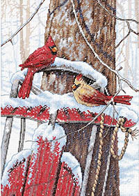 Cardinals On Sled Kit