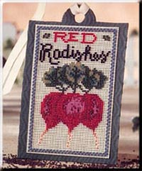 Seed Tags-Red Radishes