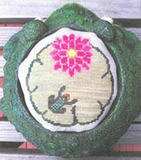 Waterlily Pad Pincushion