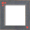 Primitive Heart Border Frame