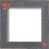 Primitive Heart Border Frame