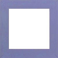 Matte Periwinkle 8x8 Frame